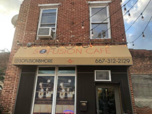 Sofusion Cafe - an example of a Maryland Neighborhood Exchange Success Story